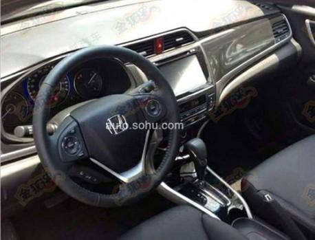 Spy Shots: Honda Crider shows its dashboard in China
