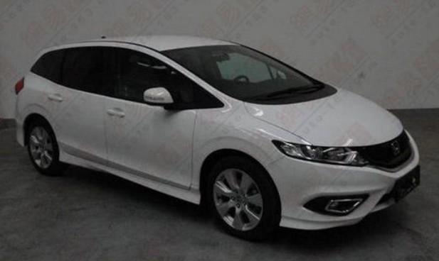 Spy Shots Honda Jade Mpv Is Naked In China Carnewschina Com