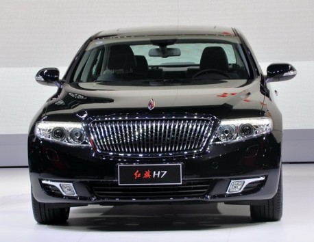 Hongqi H7 launched on the Chinese car market