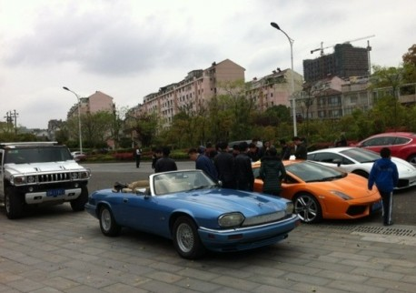 Jaguar XJS Convertible pops up in China