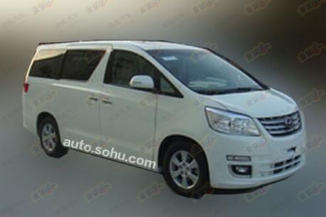 Spy Shots: Joylong IFLY is doing the Toyota Alphard in China
