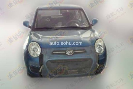 Spy Shots: Lifan 330 testing in China