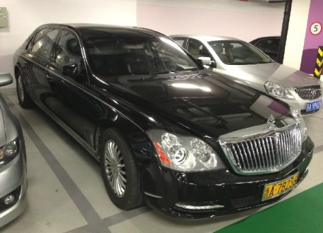 Maybach 62 is Big 'n Black in China