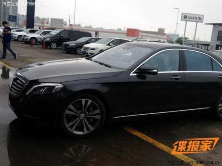 Spy Shots: new Mercedes-Benz S-Class testing in China