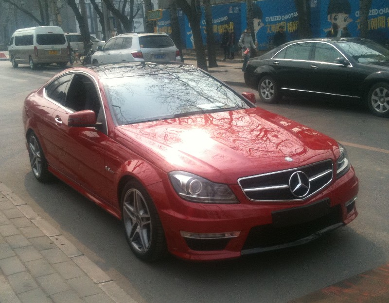 mercedes-c63-coupe-china-7