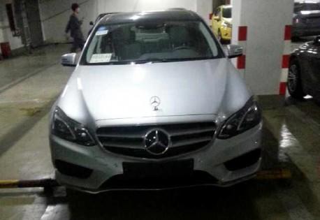 Spy Shots: Mercedes-Benz E400L testing in China