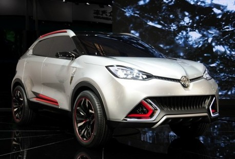 MG CS SUV will get a 204hp 2.0 turbo