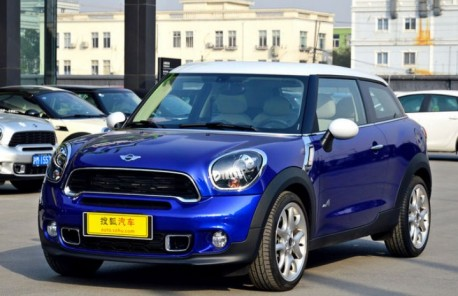 Mini Paceman hits the Chinese car market