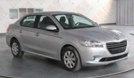 Spy Shots: Peugeot 301 is Naked in China