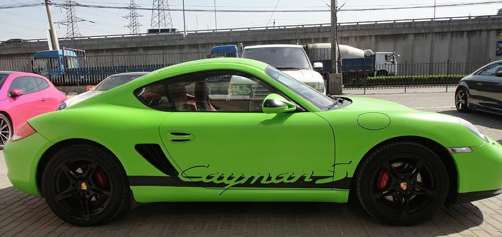 porsche-cayman-green-china-2