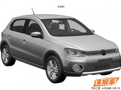 Patent Applied: Volkswagen Cross Gol to come to China