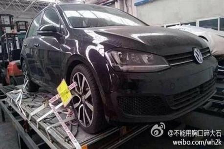 Spy Shots: 2014 Volkswagen Golf 7 R arrives in China
