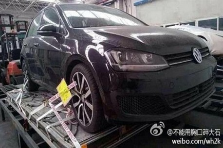 Spy Shots: 2014 Volkswagen Golf 7 R arrives in China