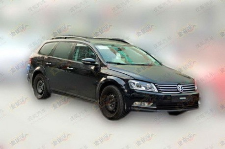 Spy Shots: B8 Volkswagen Passat Variant testing in China