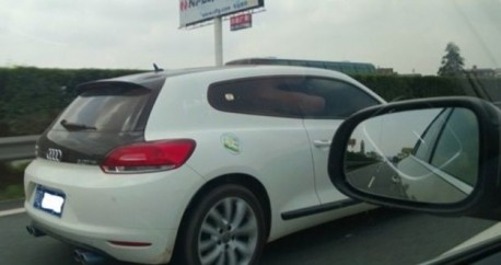 Volkswagen Scirocco is an Audi in China