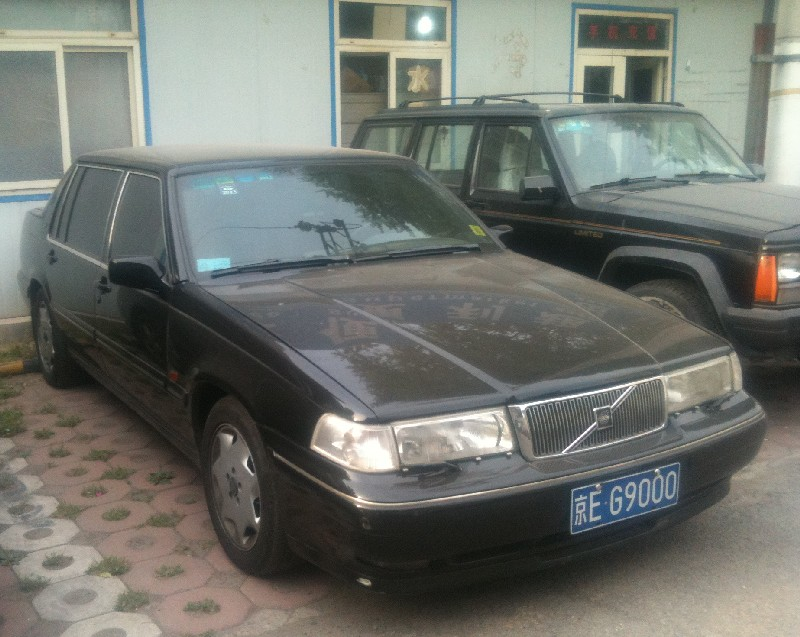 Spotted in China: Volvo 960 Royal