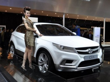 Beijing Auto C51X SUV will hit the Chinese car market in 2014