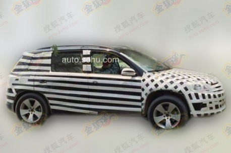 Spy Shots: Beijing Auto C51X testing in China