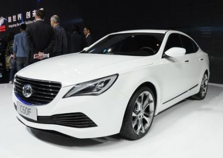 Beijing Auto C60 will hit the Chinese car market this year