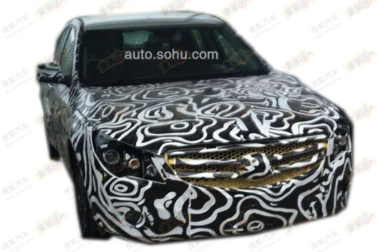 Spy Shots: Beijing Auto C60F seen testing in China