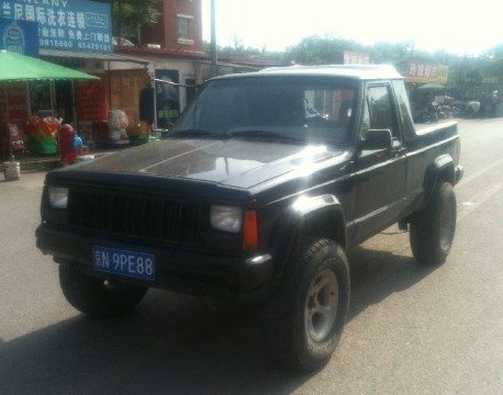 Beijing-Jeep Cherokee is a pickup truck in China