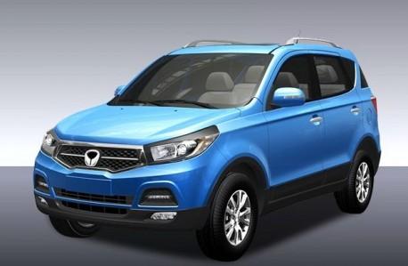 Renderings of the Beijing Auto Weiwang SC20 SUV