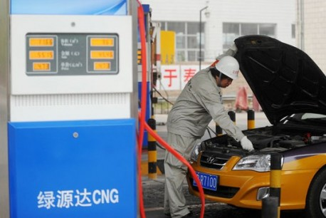 Beijing to have 2000 taxis running on natural gas this year