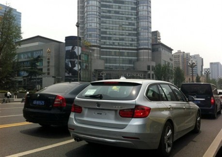 Spy Shots: BMW F31 3-Series Touring testing in China