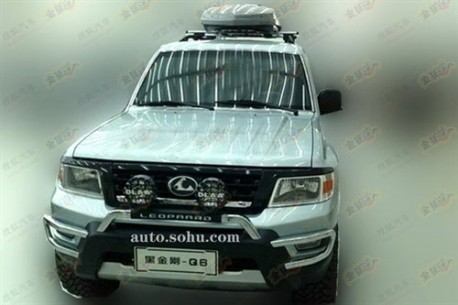 Spy Shots: Changfeng Liebao Heijin Q6 is ready for the Chinese car market