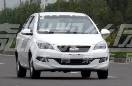 Spy Shots: Chery A2 is Naked in China
