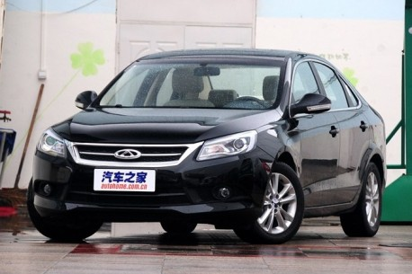 Chery Arrizo 7 is Naked from all Sides in China
