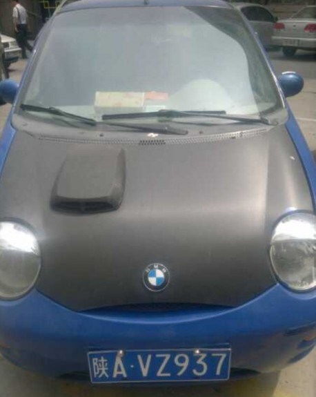 Chery QQ is a BMW in China