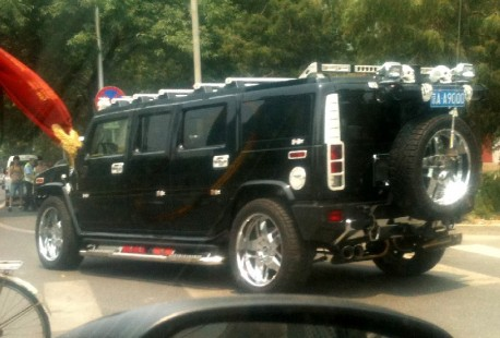 Stretched Hummer H2 is Fatass in China
