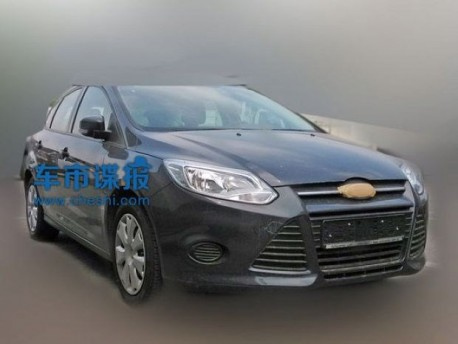 Spy Shots: Ford Focus going Cheap in China