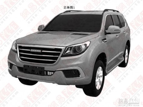 Patent Applied: Haval H9 will be a Big SUV in China