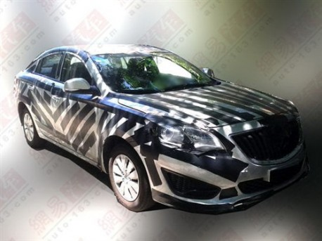 Spy Shots: Haima A+ sedan testing in China