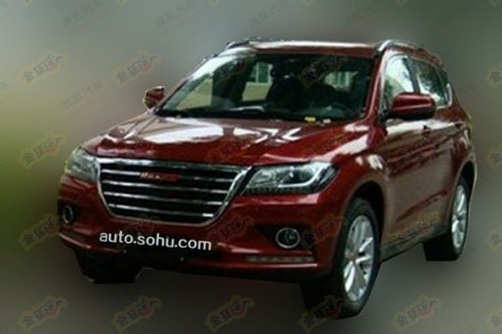 Spy shots: Haval H2 testing in China
