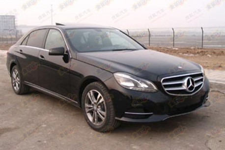 Spy Shots: Mercedes-Benz E Class L is ready for the Chinese car market