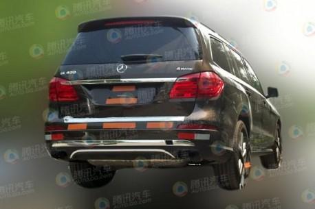 Spy Shots: Mercedes-Benz GL400 testing in China