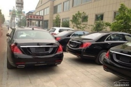 Spy Shots: Mercedes-Benz is massively testing the new S-Class in China