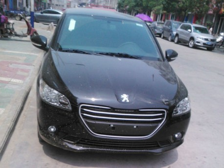 Spy Shots: Peugeot 301 is Ready on the Road in China