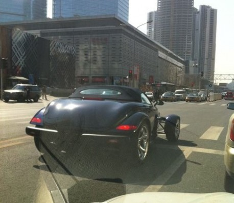 Spotted in China: Plymouth Prowler in Black