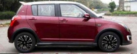 Spy Shots: Suzuki Swift 20-year Commemorative Edition for China