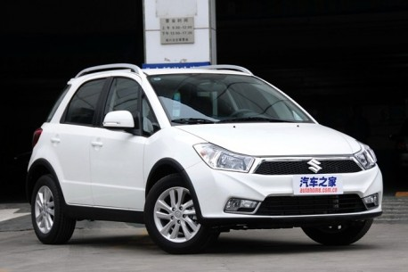 Facelifted Suzuki SX4 hits the Chinese car market