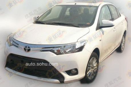 Spy Shots: Toyota Vios mới thử nghiệm ở Trung Quốc