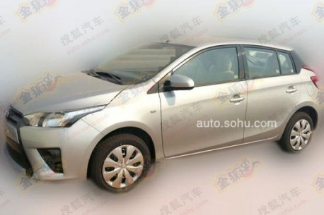 Spy Shots: new Toyota Yaris testing in China