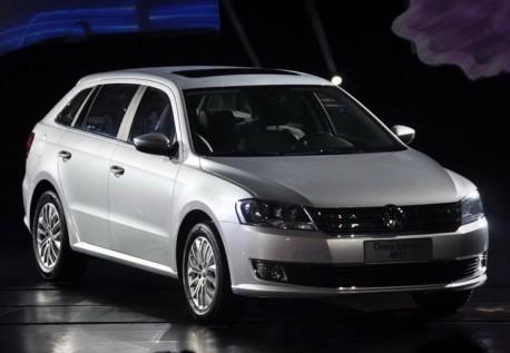Volkswagen Gran Lavida hits the China car market