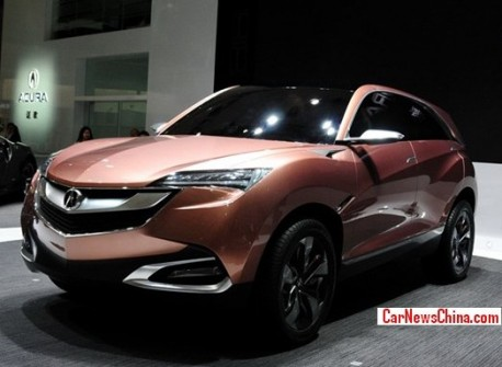 Acura to start production in China in 2016