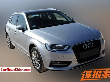 Spy Shots: China-made Audi A3 Sportback is Ready for the Chinese car market