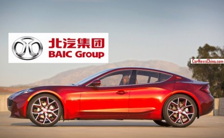 China's BAIC wants to buy Fisker Automotive